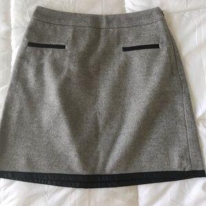 Club Monaco Wool Skirt, Size 0